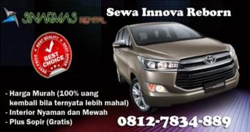 Sewa Innova Reborn Palembang Dapat Discount Menarik